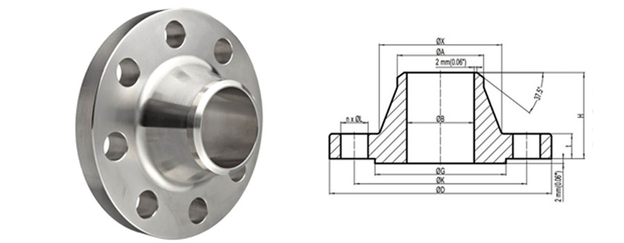 ss weld neck flange manufacturer in india