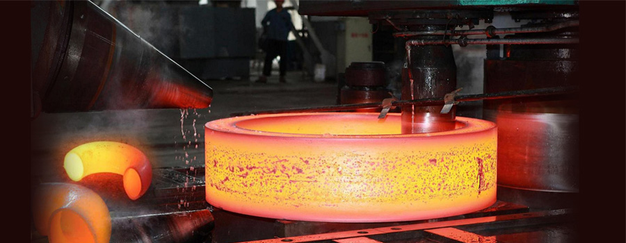 manufacturing process of ss flanges