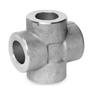 stainless steel forged fitting cross exporter