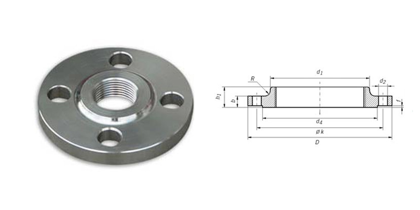 Monel flanges dimensions and weights